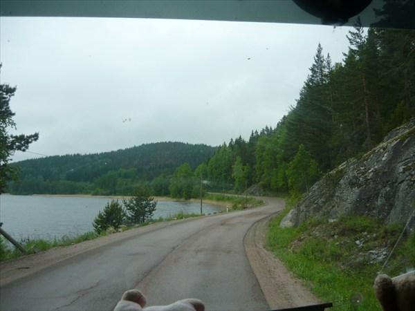 дорога по северу Ладоги