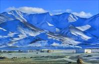 Зимний памирский тракт