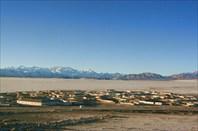 Вид на поселок с пограничной вышки