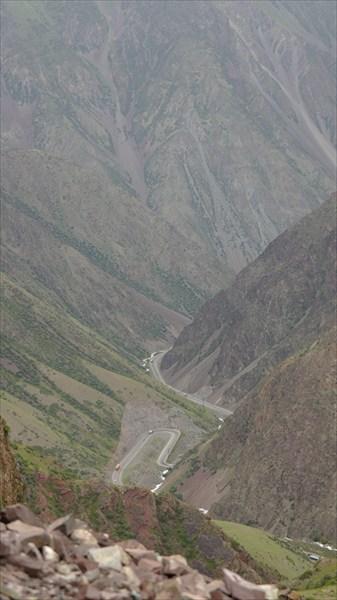 Подъем на перевал