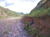 Тяжелая дорога на перевал Кара-Кичи