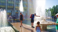 Бишкекские фонтаны
