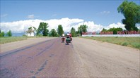 Дорога вокруг Иссык-Куля