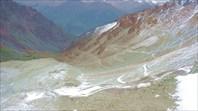 Серпантин перевала Кок-Айрык
