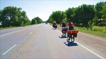 Первые кмлометры похода
