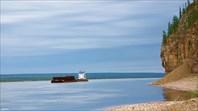 У этого мыса судоходный фарватер расположен близко к берегу
