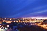 Ночной Нижневартовск-город Нижневартовск