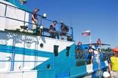 Наш катер `Одиссей-2`