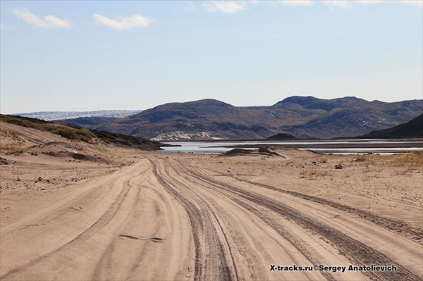 """Песчаная """"пустыня""""."""