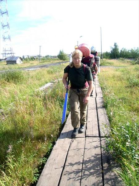 По пути к станции Абезь