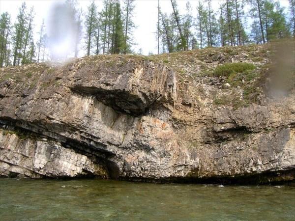 Скалистые отложения