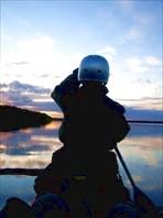 Вечер у устья Б.Усы