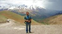 На перевале Хаджигак-3500 м.