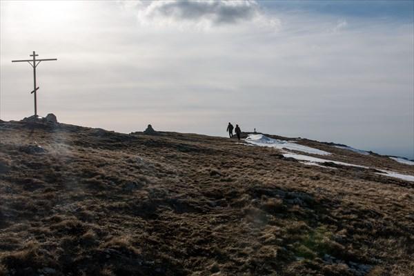 На вершине Эклизи-бурун