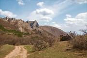 Вид на плато Караби снизу