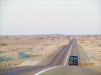 Дорога от Мертвого моря к Красному