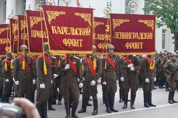 Парад в Свастополе.