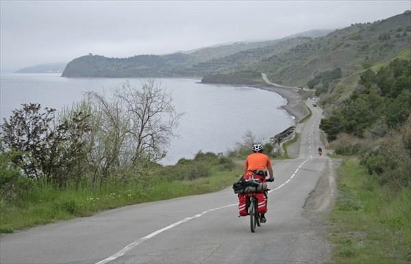 По дороге в Морское.
