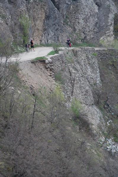 Подъем на перевал Кок-Асан-Богаз