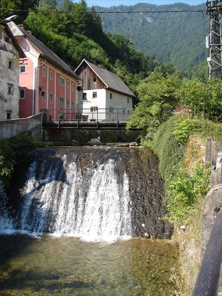 Уютный городишка в Словение
