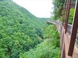 Железный мостик в каньоне