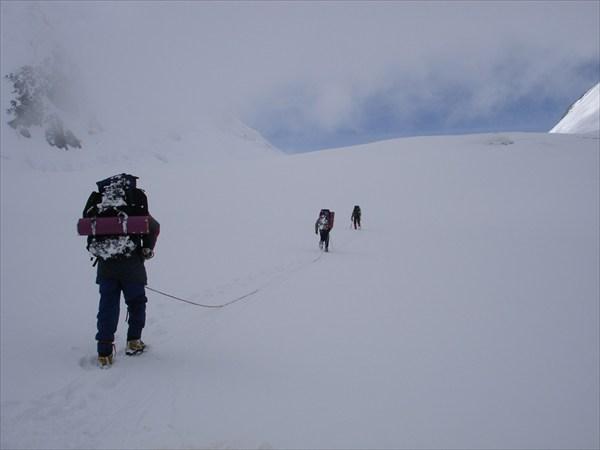 Выход на Центральное плато