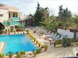 Отель `Никос и Олимпия`. Внутренний дворик