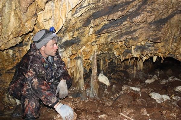 В пещере Медвежьей