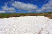 Небо, вода, снежник, плато!