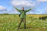 Я и цветы на плато Кваркуш