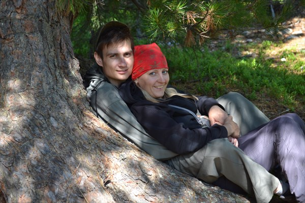 Виталя и Люба.
