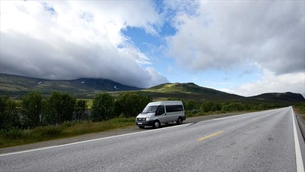 По дороге между облаками