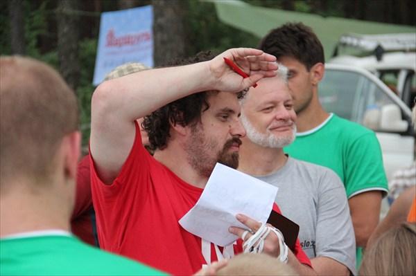 """Славин дает команду: """"Начали!"""""""