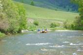 Начало сплава по реке Чарыш