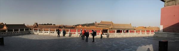 В Запретном городе (Пекин)