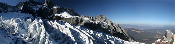 Ледник Jade Snow Mountain