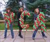 на фото: УСАшные девченки :)