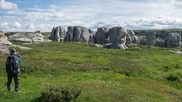 Верхний каменный город Белой
