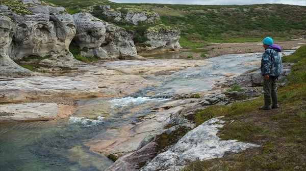 В Водопадном каньоне