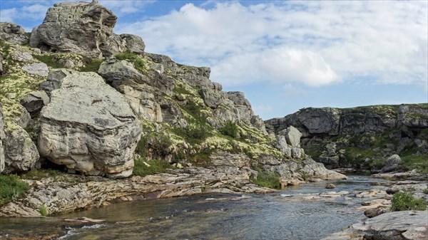 Водопадный каньон Белой