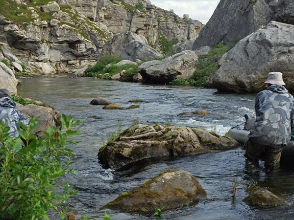 В непроходимом каньоне