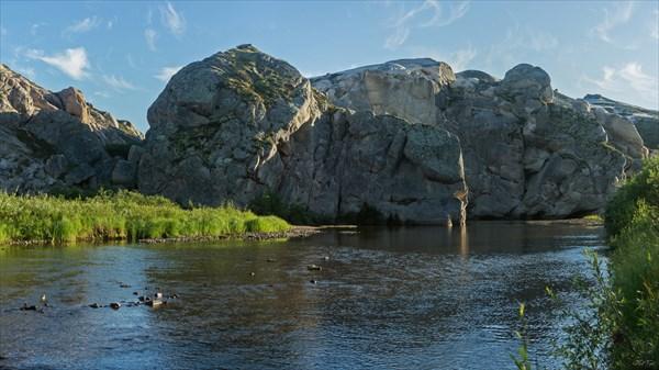 Река Каменная Виска