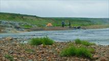 Бивак у впадения в Белую Белого Кечвожа