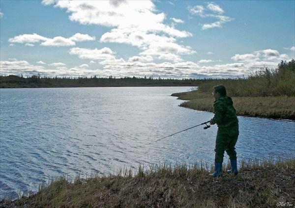 Рыбалка на реке Танью