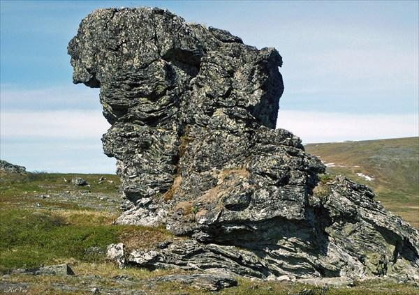 Скалы в районе Кокпельского перевала