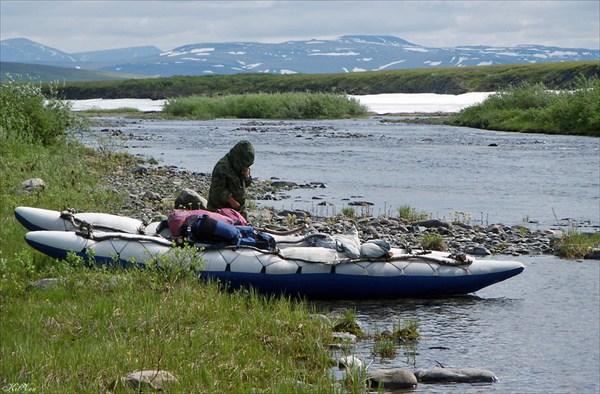 Река Кокпела.