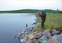 Рыбалка в устье Левой Пайоры