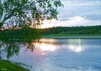 Долина Лемвы. Закат