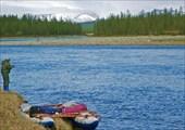 Река Танью. Остановка в пути