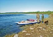 Река Войкар. Встреча с орнитологами